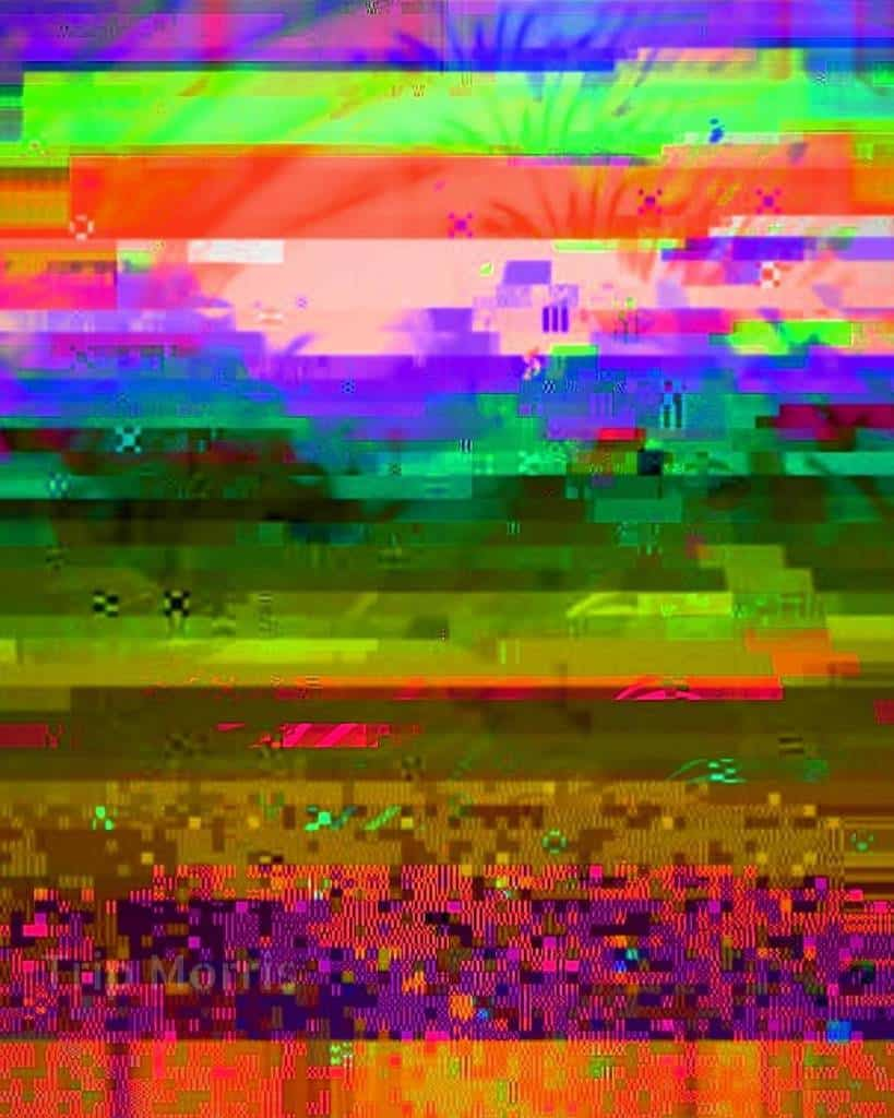 5th Dimensional Sunset - Trip Morris Glitchwork