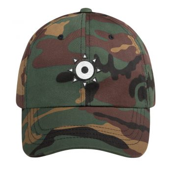 Eye Of The Lich Camo Dad Hat - Trip Morris Clothing